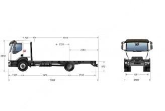 Renault Trucks D18 КУПАВА Изотермический