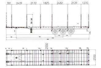 Bodex KIS-3PK Полуприцеп сортиментовоз
