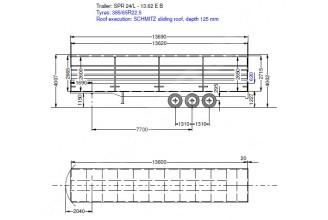 Schmitz Cargobull SPR 24/L - 13.62 EB TIR Тентованный полуприцеп