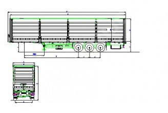 Wielton NS 3 SP M2 (NS 34 ST) Полуприцеп тентованный (ворота)