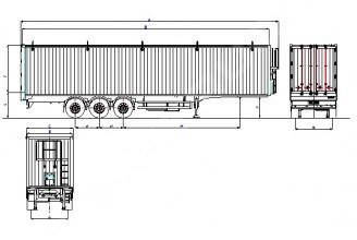 Wielton NS 3 R (NS 34 YT/RP) Полуприцеп с подвижным полом