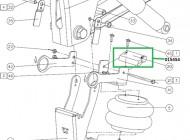 015454 Буфер механизма подъема оси Schmitz