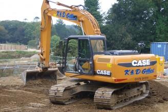 CASE CX180B Гусеничный экскаватор