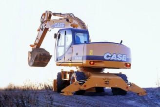 CASE WX185 Колесный экскаватор