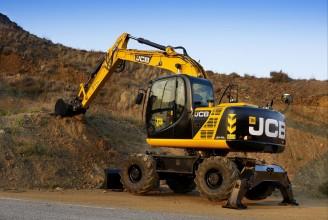 JCB JS145W Колесный экскаватор