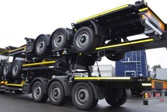 Kogel SWCT 24 P 130 40 1.110 Полуприцеп контейнеровоз