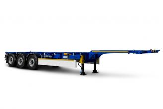 Wielton NS 3 P45 R2 (NS 34 PT /45/R2) Полуприцеп контейнеровоз раздвижной