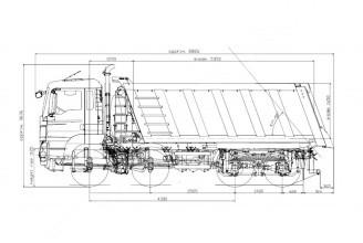 MAN TGS 41.400 8x4 BB-WW Самосвал