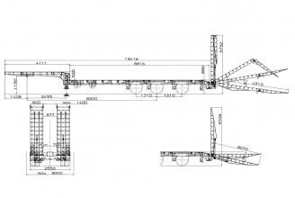 Bodex KIS-3JM Полуприцеп трал низкорамный