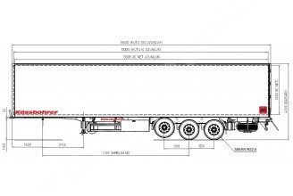 Kassbohrer FL (Carrier Maxima 1300) полуприцеп рефрижератор