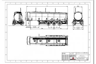 Kassbohrer STB 30 STEEL полуприцеп цистерна бензовоз