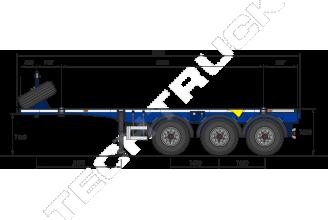 Grunwald Tank 20 Полуприцеп контейнеровоз