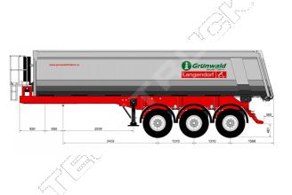 Grunwald TSt 27 Самосвальный полуприцеп
