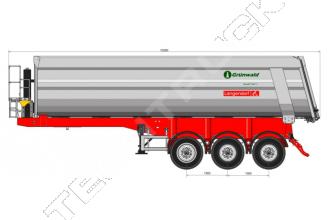 Grunwald TSt 38 Самосвальный полуприцеп