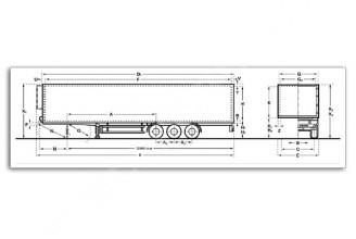 Kogel Cool SIKT 24 P 50 1.110 (толстая изотерма) Изотермический полуприцеп
