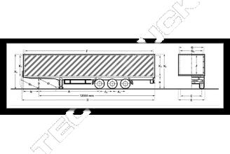Kogel SNCO 24 P 90 / 1.110 TIR Шторный полуприцеп