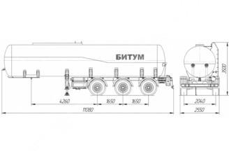 НЕФАЗ–96931-10-04 Полуприцеп цистерна (Битумовоз)