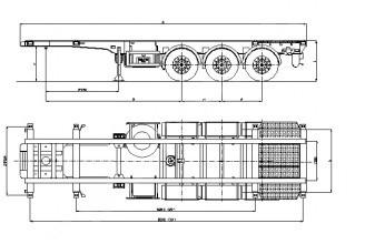 Wielton NS 3 P20 P30 (NS 34 PT) Полуприцеп контейнеровоз