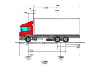 Scania P340 LB6x2HNA Изотермический