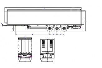 Wielton NS 3 С M2 (ALUVAN) Изотермический полуприцеп
