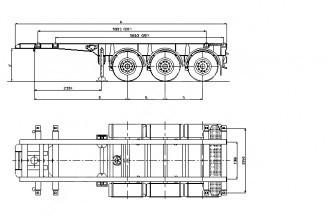 Wielton NS 3 P20 (NS 34 PT /20) Полуприцеп контейнеровоз