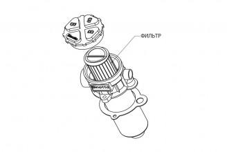 Фильтр для масляных баков Binotto FIT-100-A25