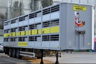 Berdex Ecoline Полуприцеп для перевозки свиней (3 этажа)