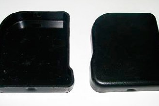 Заглушка левая бруса противоподкатного Kogel
