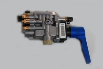 Кран-регулятор уровня платформы (5 пневмовыходов) Kogel