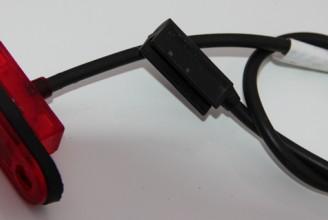 Фонарь габаритный (красный) для рефрижератора Kogel