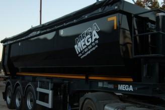 Mega 31,5 м3 Half-Pipe Полуприцеп самосвальный
