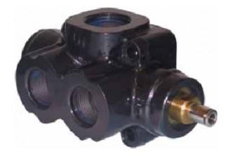 Клапан переключения потоков Binotto 12102200132 DVT.MTR.GRU SEL250-2 (3 VIE-2POS)