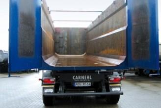 Carnehl HARDOX 57 m3 CHKS34/PH Полуприцеп самосвальный стальной