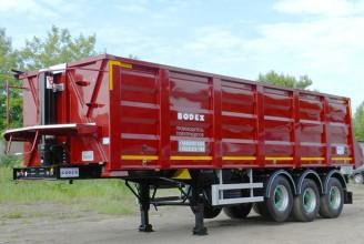 Bodex KIS 3WS1 35 m3 Полуприцеп самосвальный стальной