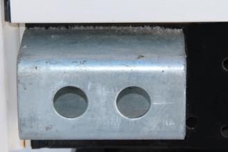 Отбойник задний металлический Kogel
