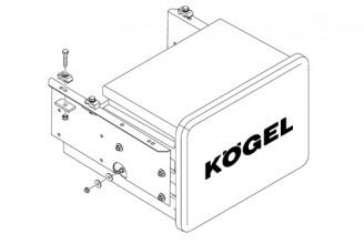 Крепеж ящика инструментального Kogel