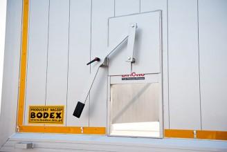 Bodex KIS 3WА 30-60 m3 Полуприцеп самосвальный алюминиевый