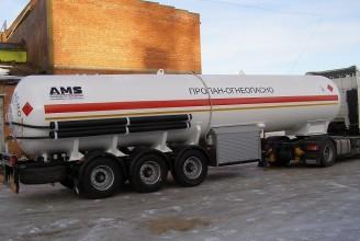 AMS-NN ППЦ-40 40m3 полуприцеп цистерна