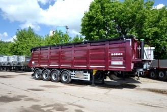 Bodex KIS 4WS 45 m3 Полуприцеп самосвальный