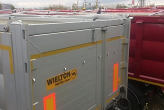 Wielton NW 3 S 39 PD (Двери клапан) Полуприцеп самосвальный стальной