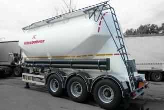 Kassbohrer SSL30 полуприцеп цистерна цементовоз