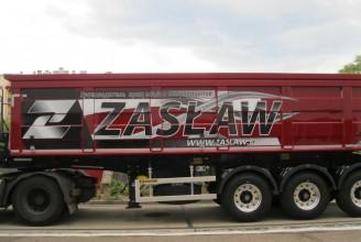 Zaslaw 33 m3 (стальной) Полуприцеп самосвальный
