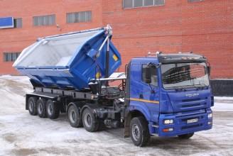 Тонар-95239-0000010/20 Самосвальный полуприцеп