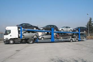 Rolfo Blizzard Полуприцеп для перевозки автомобилей