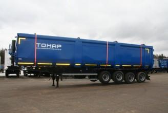 Тонар-952342-0000065/66 Самосвальный полуприцеп