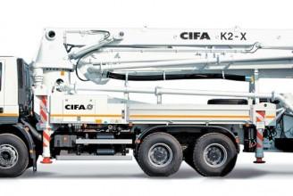 CIFA K2 X Автобетононасос