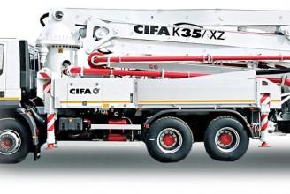 CIFA K35 XZ Автобетононасос