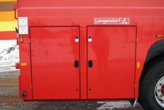 Langendorf Flatliner полуприцеп панелевоз