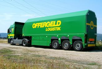 Langendorf Floatliner полуприцеп стекловоз