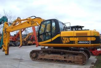 JCB JS200 Гусеничный экскаватор